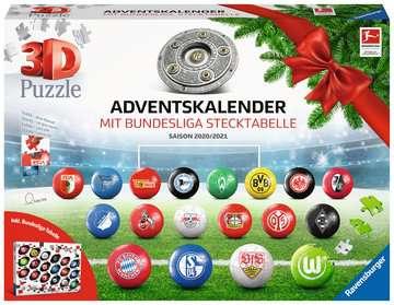 11178 3D Puzzle-Ball Bundesliga Adventskalender 2020/2021 von Ravensburger 1