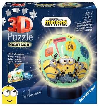 Puzzle 3D rond 72 p illuminé - Minions 2 Puzzle 3D;Puzzles 3D Ronds - Image 1 - Ravensburger