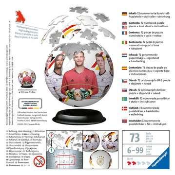 11181 3D Puzzle-Ball Die Mannschaft von Ravensburger 2