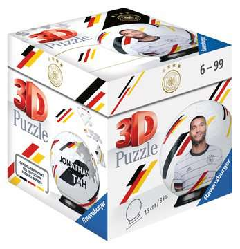 11190 3D Puzzle-Ball DFB-Nationalspieler Jonathan Tah von Ravensburger 1