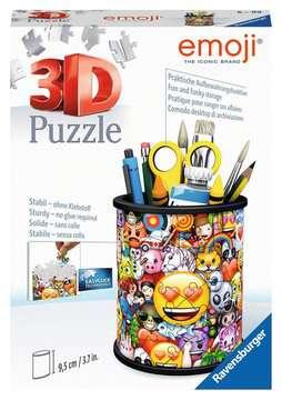 Puzzle 3D Pot à crayons - emoji Puzzles 3D;Monuments puzzle 3D - Image 1 - Ravensburger