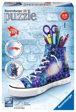 Sneaker - Galaxy Design 3D Puzzle;3D Puzzle-Organizer - Bild 1 - Ravensburger