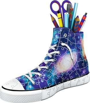 Sneaker - Galaxy Design 3D Puzzle;3D Puzzle-Organizer - Bild 2 - Ravensburger
