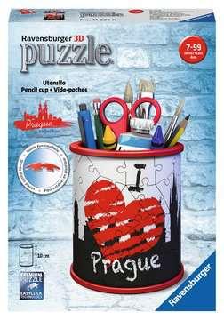Stojan na tužky I love Prague 54 dílků 3D Puzzle;Zvláštní tvary - obrázek 1 - Ravensburger
