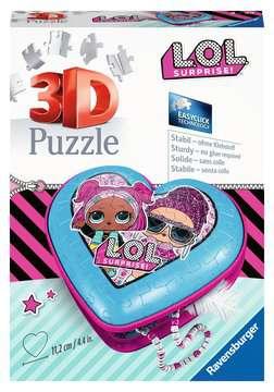 11233 3D Puzzle-Organizer Herzschatulle - LOL Surprise von Ravensburger 1
