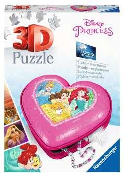 11234 3D Puzzle-Organizer Herzschatulle - Disney Princess von Ravensburger 1