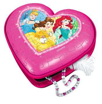 11234 3D Puzzle-Organizer Herzschatulle - Disney Princess von Ravensburger 3