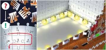 Gingerbread House 3D Puzzle, 216pc 3D Puzzle®;Buildings 3D Puzzle® - image 5 - Ravensburger