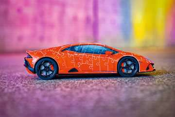 11238 3D Puzzle-Autos Lamborghini Huracán EVO von Ravensburger 19