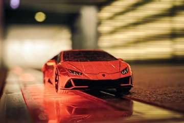 11238 3D Puzzle-Autos Lamborghini Huracán EVO von Ravensburger 25