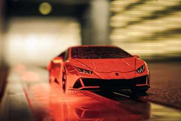11238 3D Puzzle-Autos Lamborghini Huracán EVO von Ravensburger 26