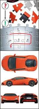 Ravensburger Puzzle 3D - Lamborghini Huracán EVO 3D Puzzle;3D Shaped - imagen 5 - Ravensburger