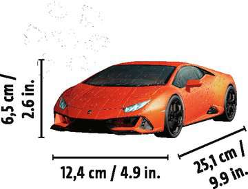 11238 3D Puzzle-Autos Lamborghini Huracán EVO von Ravensburger 6