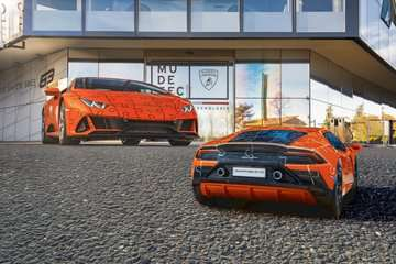 11238 3D Puzzle-Autos Lamborghini Huracán EVO von Ravensburger 7