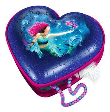 11249 3D Puzzle-Organizer Herzschatulle - Bezaubernde Meerjungfrauen von Ravensburger 3
