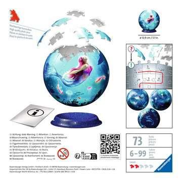 11250 3D Puzzle-Ball Bezaubernde Meerjungfrauen von Ravensburger 2