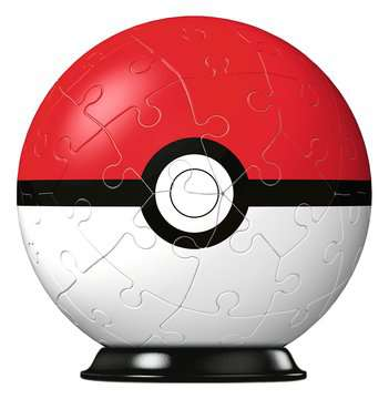 Puzzles 3D Ball 54 p - Poké Ball / Pokémon Puzzle 3D;Puzzles 3D Ronds - Image 2 - Ravensburger
