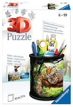 Stojan na tužky Divoká příroda 54 dílků 3D Puzzle;Zvláštní tvary - obrázek 1 - Ravensburger