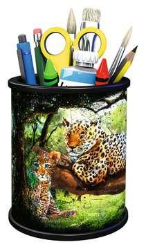Stojan na tužky Divoká příroda 54 dílků 3D Puzzle;Zvláštní tvary - obrázek 3 - Ravensburger