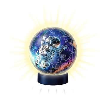 Puzzle 3D Ball 72 p illuminé - Les astronautes Puzzle 3D;Puzzles 3D Ronds - Image 3 - Ravensburger