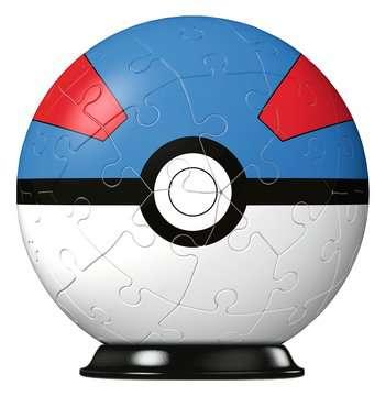 Puzzles 3D Ball 54 p - Super Ball / Pokémon Puzzle 3D;Puzzles 3D Ronds - Image 2 - Ravensburger