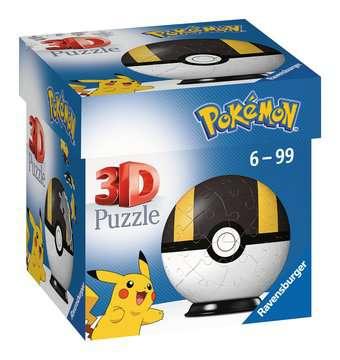 Puzzles 3D Ball 54 p - Hyper Ball / Pokémon Puzzle 3D;Puzzles 3D Ronds - Image 1 - Ravensburger