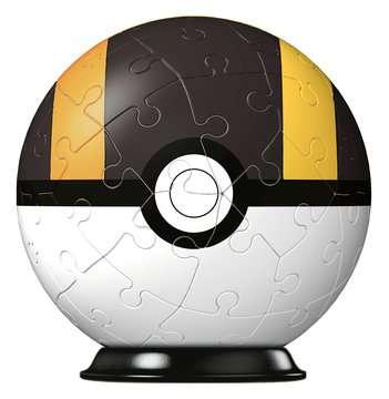 Puzzles 3D Ball 54 p - Hyper Ball / Pokémon Puzzle 3D;Puzzles 3D Ronds - Image 2 - Ravensburger