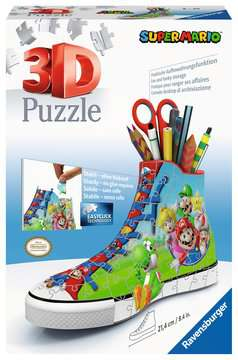Kecka Super Mario 108 dílků 3D Puzzle;Zvláštní tvary - obrázek 1 - Ravensburger