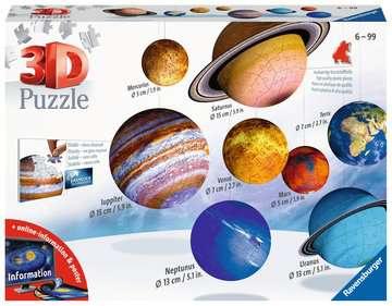 Zonnestelsel 3D puzzels;3D Puzzle Ball - image 1 - Ravensburger