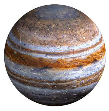 11668 3D Puzzle-Ball Planetensystem von Ravensburger 9