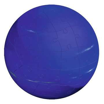 11668 3D Puzzle-Ball Planetensystem von Ravensburger 12