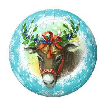 Christmas Ornament 3D Puzzle Balls in Gift Box 3D Puzzle®;Puslebolde - Billede 3 - Ravensburger