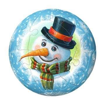 Christmas Ornament 3D Puzzle Balls in Gift Box 3D Puzzle®;Puslebolde - Billede 5 - Ravensburger