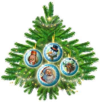 Christmas Ornament 3D Puzzle Balls in Gift Box 3D Puzzle®;Puslebolde - Billede 7 - Ravensburger
