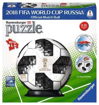 Adidas 2018 World Cup Football 3D Puzzle, 72pc 3D Puzzle®;Character 3D Puzzle® - image 1 - Ravensburger