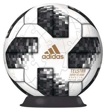Adidas 2018 World Cup Football 3D Puzzle, 72pc 3D Puzzle®;Character 3D Puzzle® - image 2 - Ravensburger