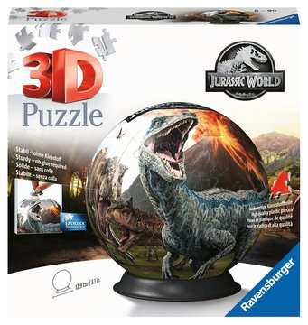 Jurassic World 3D Puzzle;3D Puzzle-Ball - immagine 1 - Ravensburger