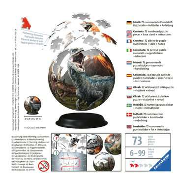 Jurassic World 3D Puzzle;3D Puzzle-Ball - immagine 2 - Ravensburger