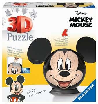 Disney Mickey Mouse mit Ohren 3D Puzzle;3D Puzzle-Ball - Bild 1 - Ravensburger