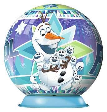 FROZEN - PRZYGODY OLAFA 3D 72EL Puzzle 3D;Puzzle Kuliste - Zdjęcie 2 - Ravensburger
