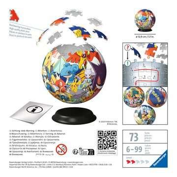 Puzzle 3D rond 72 p - Pokémon Puzzle 3D;Puzzles 3D Ronds - Image 2 - Ravensburger