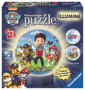 Puzzle 3D rond 72 p illuminé - Pat Patrouille Puzzle 3D;Puzzles 3D Ronds - Image 1 - Ravensburger