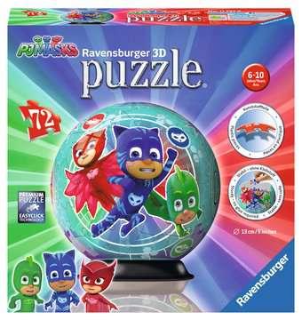 PJ Masks 3D puzzels;3D Puzzle Ball - image 1 - Ravensburger
