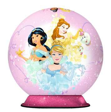 Disney Princess 3D Puzzle;3D Puzzle-Ball - Bild 2 - Ravensburger