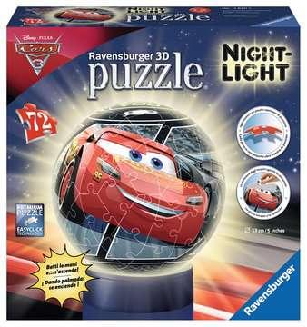 Puzzle 3D Lampara Nocturna Cars 3D Puzzle;3D Lámparas - imagen 1 - Ravensburger
