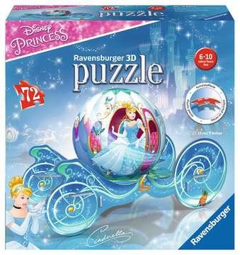 Cinderella Carriage 3D Puzzle®, 72pc 3D Puzzle®;Character 3D Puzzle® - image 1 - Ravensburger