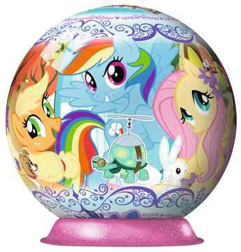 Puzzle 3D rond 72 p - My little Pony 3D puzzels;Puzzle 3D Ball - Image 4 - Ravensburger