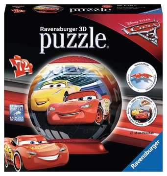 PUZZLE CARS 3 KULISTE 72 EL. Puzzle;Puzzle dla dzieci - Zdjęcie 1 - Ravensburger
