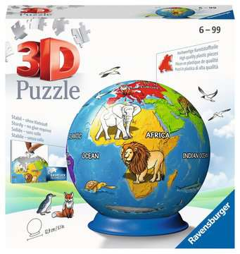 11840 3D Puzzle-Ball Kindererde von Ravensburger 1