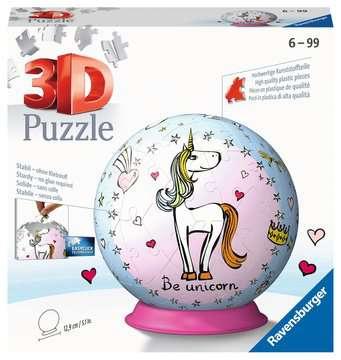Einhorn 3D Puzzle;3D Puzzle-Ball - Bild 1 - Ravensburger